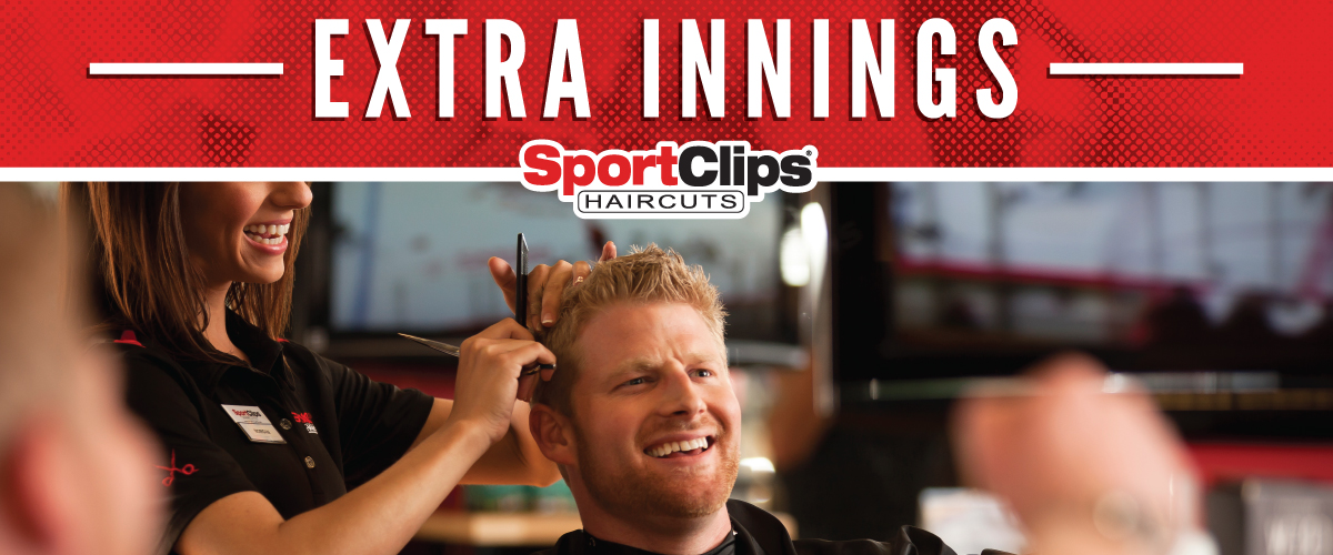 The Sport Clips Haircuts of Downtown Boise  Extra Innings Offerings