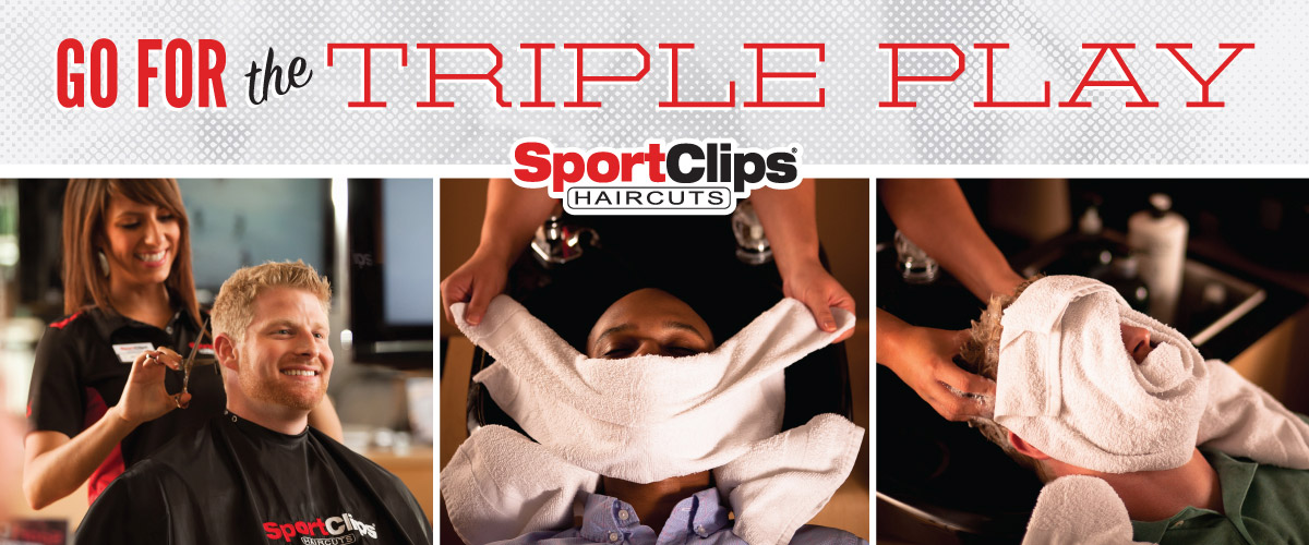 The Sport Clips Haircuts of Downtown Boise  Triple Play